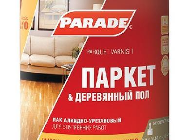 Лак паркетный PARADE алкидно-уретановый матовый 0,75 л L10