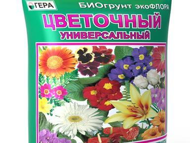 """БиоГрунт """"Цветочный универсальный"""" 10л"""
