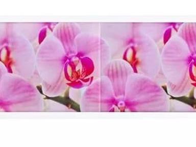 """Экран п/ванну """"Ультра легкий"""" АРТ 1,68м Дикая орхидея"""