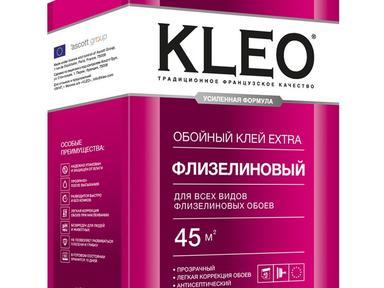 Клей для обоев KLEO  Экстра  флизелиновый 55 м кв