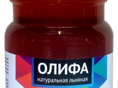 "Олифа льняная натуральная ""Простоколор"" 1л"