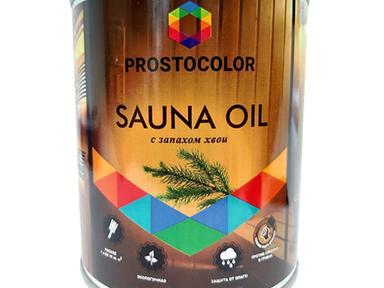 Масло для бань и саун Простоколор SAUNA OIL 0,75л с запахом хвои