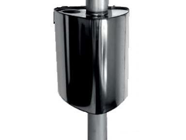 Бак на трубу 55 л ф115 треугольный
