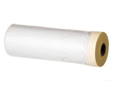 Пленка защитная 240см х 25м с малярной лентой
