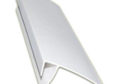 Профиль F 8-10 мм, 3м белый