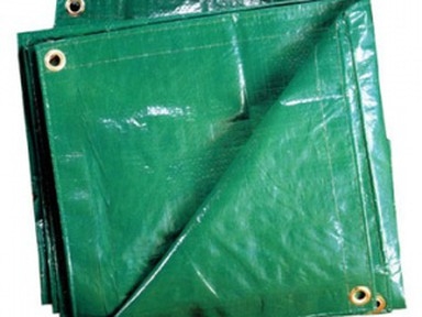 Тент Тарпаулин полиэтилен 120г/м2 8х10м зеленый