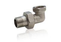 Сгон угловой 1/2 никель VTr 098