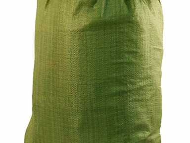 Мешки п/п 55х95 см мусорные зеленые
