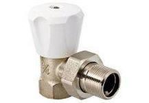 Клапан 3/4 для радиатора ручной угловой EUROS