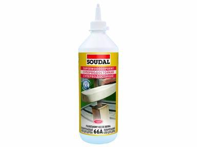 Клей для дерева Соудал полиуретановый 250мл водостойкий 66А