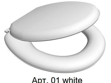 Сиденье для унитаза AQUA-PRIME FLAT AQP.05.01 белый