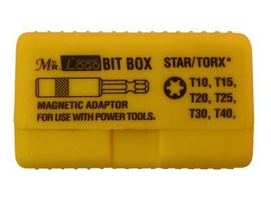 Набор бит Torx 10-40мм