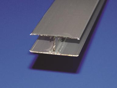 Профиль алюмин. Н-образный для соединен. шиферной полосы 30х12х30х450 мм