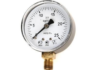 Манометр МТП кислород 25 атм