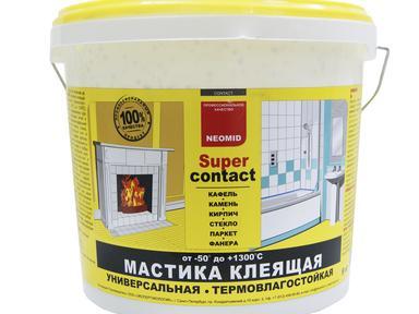 Мастика термостойкая NEOMID клеющ.универсальная 9 кг (-50*до+1300*)