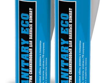 Герметик Titeseal Eco силикон. универ. белый