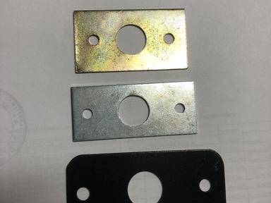 Пластина  крепежная ПК-40 цинк