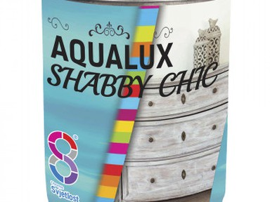 Краска декоративная AQUALUX Chabbi Chic 0,2л Бирюзовая Звезда