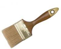"""Кисть флейцевая 2,5"""" (63мм) светлая щетина с деревянной ручкой"""