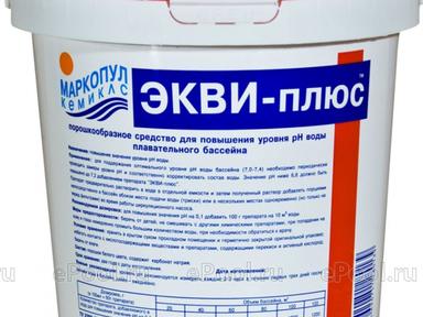 Маркопул Кемиклс/регулирование pH/ Экви-плюс 5 кг порошок ведро 95101