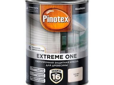 Пинотекс Экстрим1 краска для дерева База BW 0,9л полумат