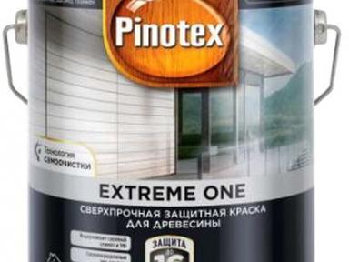 Пинотекс Экстрим1 краска для дерева База BW 2.5л полумат