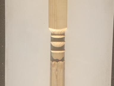 Колонна сосна 2700х100х100 мм (Т7)