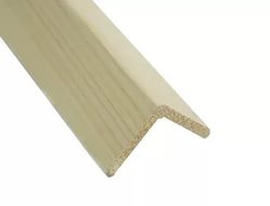 Уголок деревянный 20х40х3000 мм гладкий