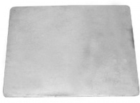 Плита чугунная цельная, 410х340х8мм  Балезино