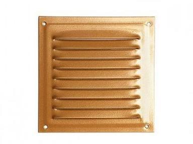 Решетка вент. 150х150 медн,антик