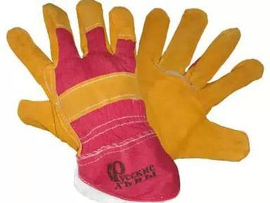 Перчатки  желтые утепленные