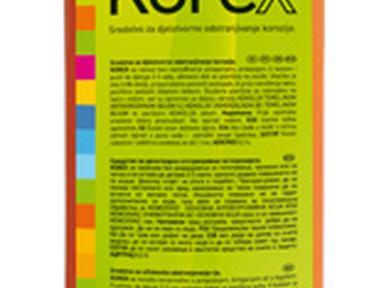 Преобразователь ржавчины KOREX 1л Хорватия