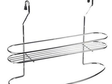 Полочка для специй с держателем для полотенца, 32x10x25см, арт.28 03 19