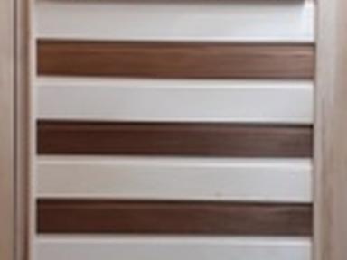 Дверь банная термолипа Панно Комби глухая 190х70см б/п