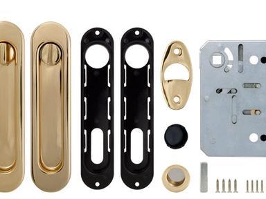 Набор для раздвижных дверей SH011-BK GP-2 (золото)