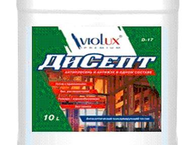 Антисептик ДиСепт Viotex Д-17 20л для древесины