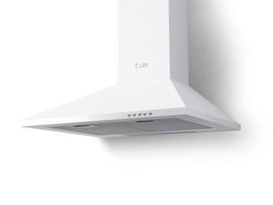 Вытяжка кухонная купольная BASIC 500 WHITE LEX
