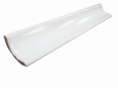 Уголок керамический белый 5,5*20