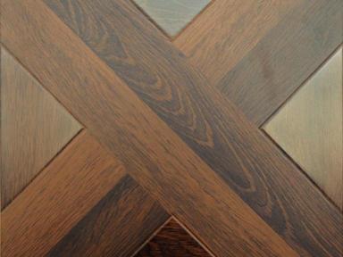 Ламинат Hessen Floor/Grand  Норманнский орех 1200*400*12мм (1уп.-2,4кв.м) 33 кл.