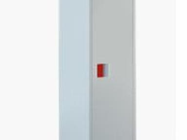 Шкаф ГШ-1К сборный  для 1 кислородного баллона 40л