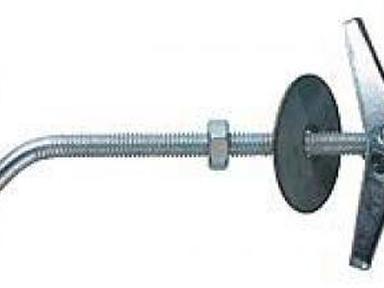 Дюбель складной пружинный с крючком М4х100 (2шт)