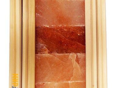 Абажур из Гималайской соли угловой Большой  Липа 380х670мм