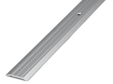 Порог-стык АЛ-163 Серебро 1,35м