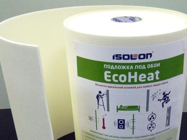 Подложка под обои для утепления стен 5мм Eko Хит 0,5х14м.п