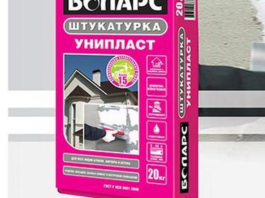 "Штукатурка цементно-известковая ""БОЛАРС"" БТ 20 кг"
