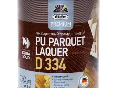 Лак паркетный ДЮФА полиуретановый 2,5л полуматовый Д334