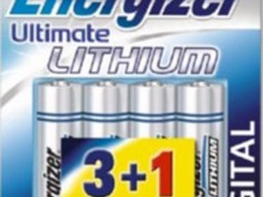 Батарейка литиевая*12 ENR Ultimate Lithium AA 2шт/бл