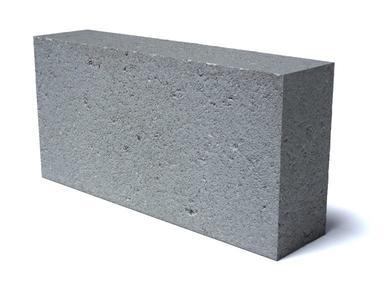 Блок пескобетон 90х188х390 полнотелый