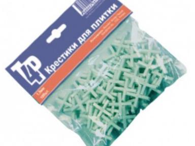Крестики для плитки 3х100 многоразовые (1уп.-100шт.)