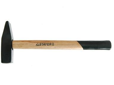 Молоток слесарный  1000гр STAYER с дерев.ручкой